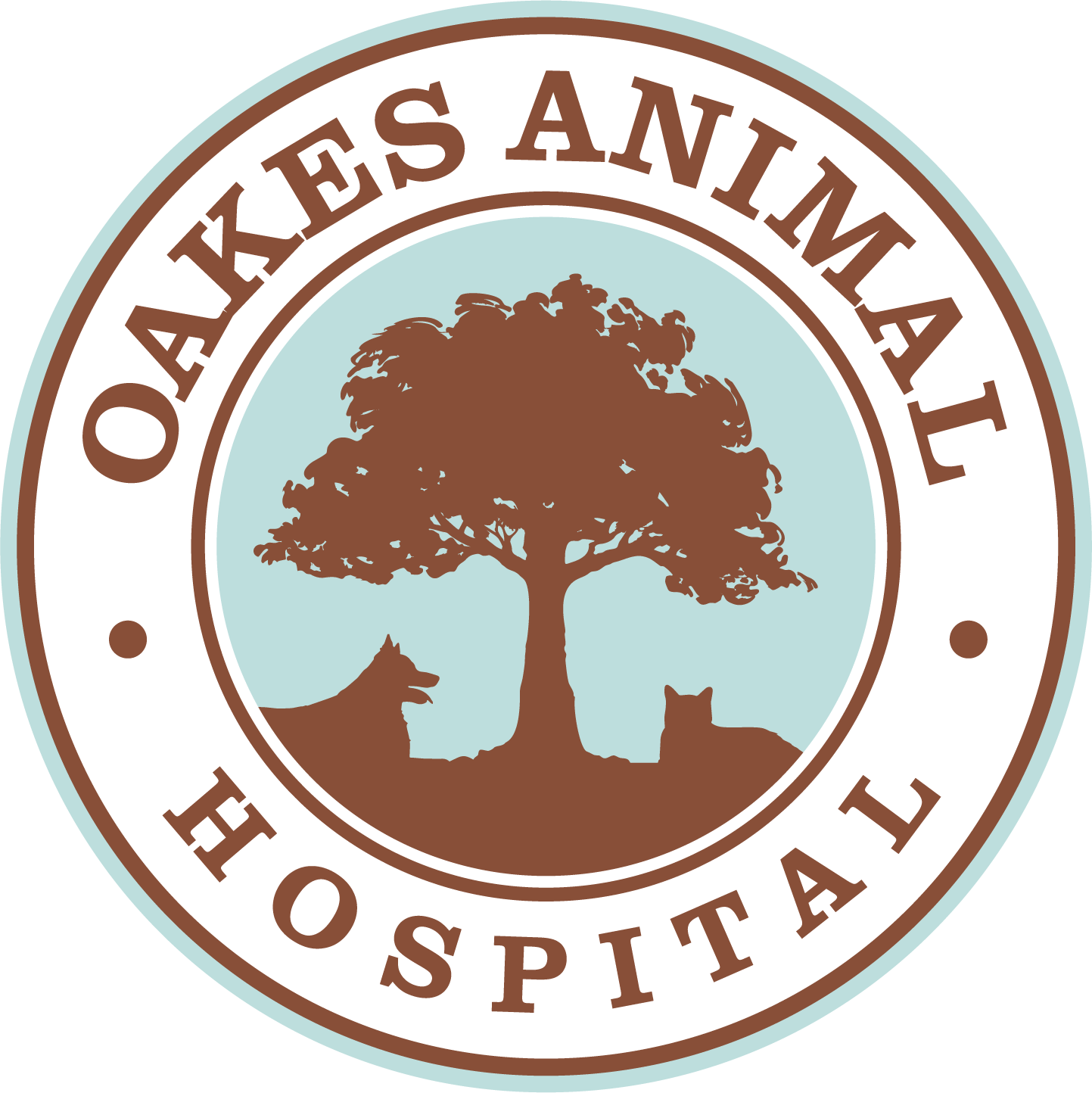 Oakes Animal Hospital logo